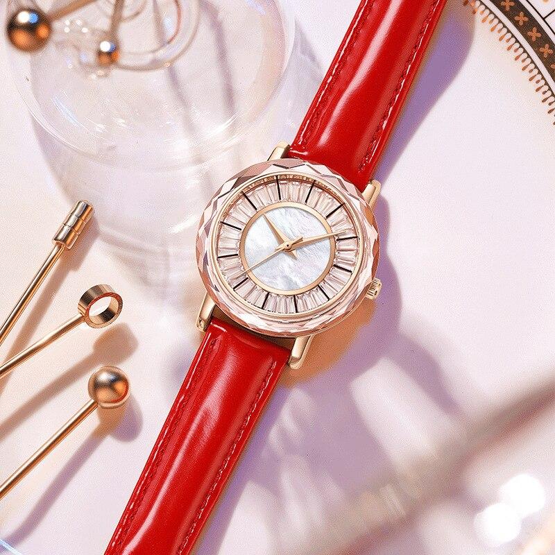 Luxury Diamond Women Watches Ladies Rhinestone Quartz Watch Waterproof Top Brand Bracelet Rose Gold Women WristWatch Clcok + Box