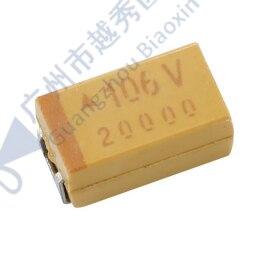 500PCS Tipo TAJC106K035RNJ 6032C 35V 10 ± UF 10% Tântalo Capacitor T-Cap SMD