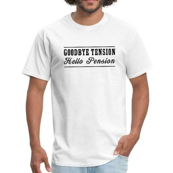 T-Shirt Hello pour homme, adieu la Tension