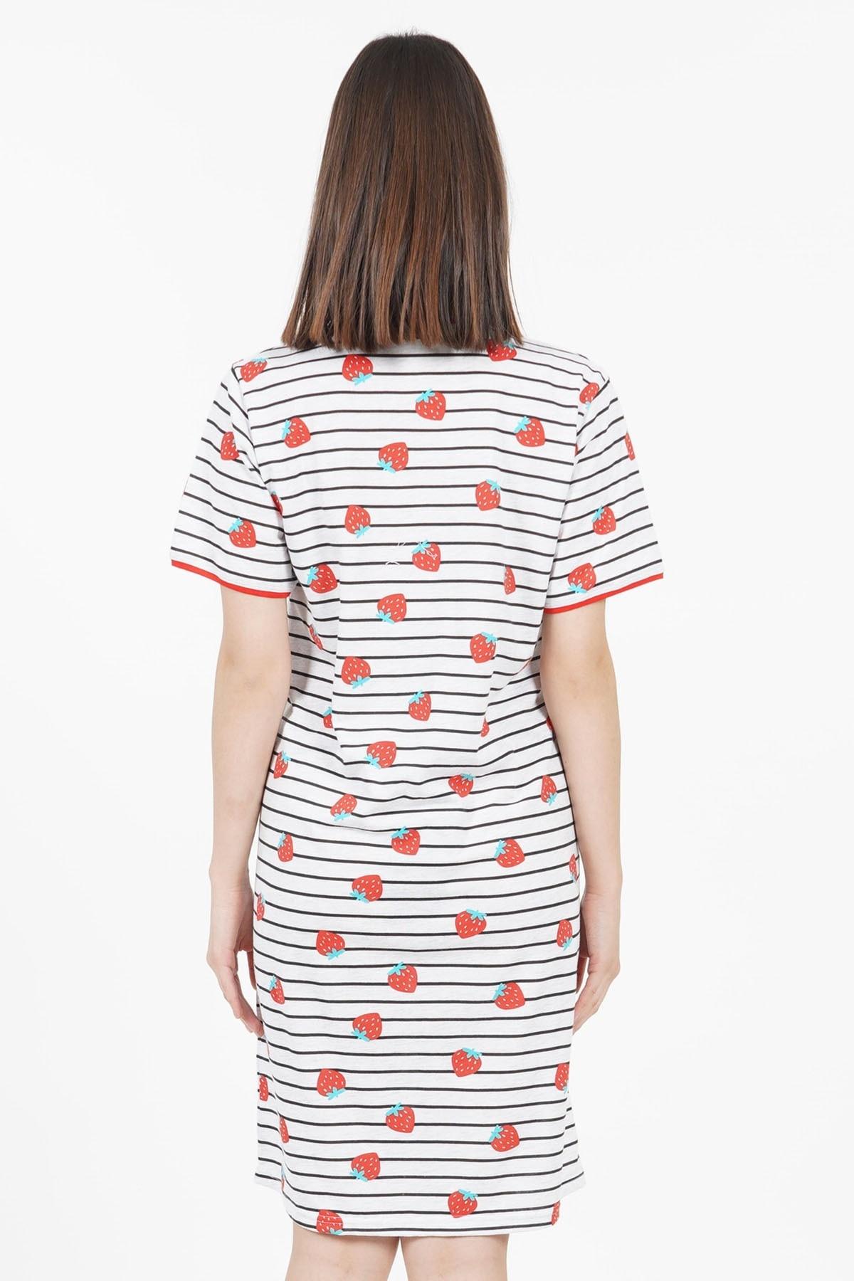 100% Cotton Short Sleeve Pregnant Woman Dress Maternity Nightgown Pajamas Clothing Cloths Sleep Lounge  Bathrobe enlarge