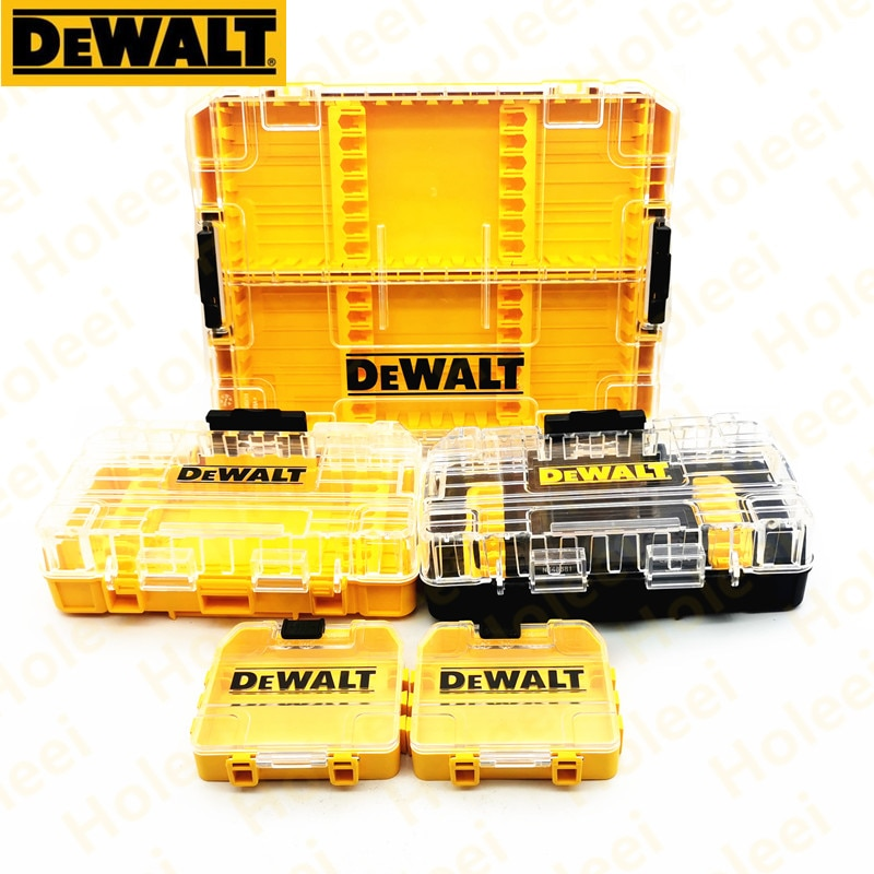Boxs For DEWALT drill parts box storage Impact Screwdriving bit box Power Tool Accessories Electric