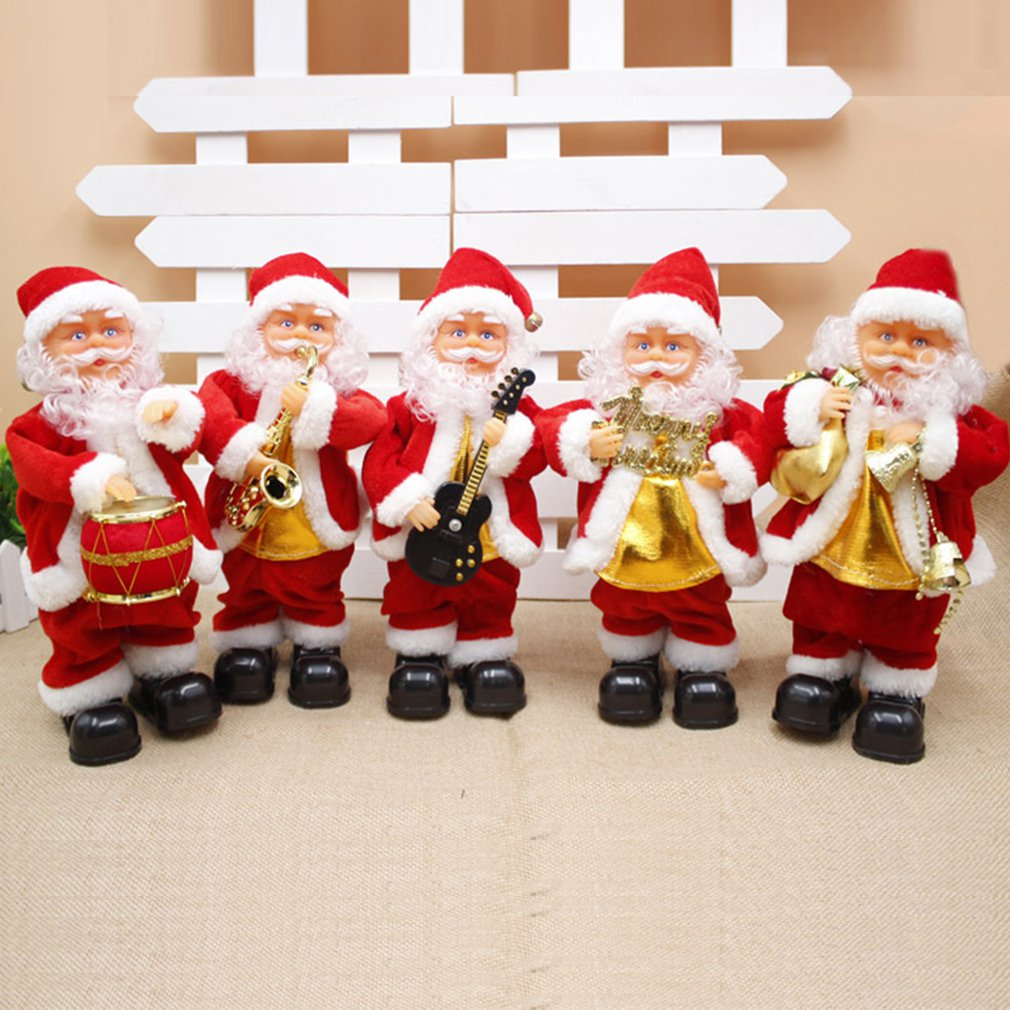 Фото - Christmas Decorations Electric Santa Claus 30cm Electric Doll Children's Gifts Suitable For All Kinds Of Christmas Parties fennell clare santa s 12 days of christmas