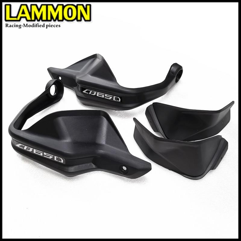 Para HONDA CB500X CB500F CB500R CB650F CB650R accesorios de motocicleta ABS protector de manillar de inyección