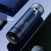 intelligent thermos cup temperature display thermos cup 304 stainless steel liner thermos cup thermos cup thermos bottle