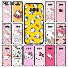 MaiYaCa Hello Kitty Phone Case  for Samsung Galaxy S20 S20 S10S20 S10E S6 S7 S8 S9 Plus S20 S10lite S5