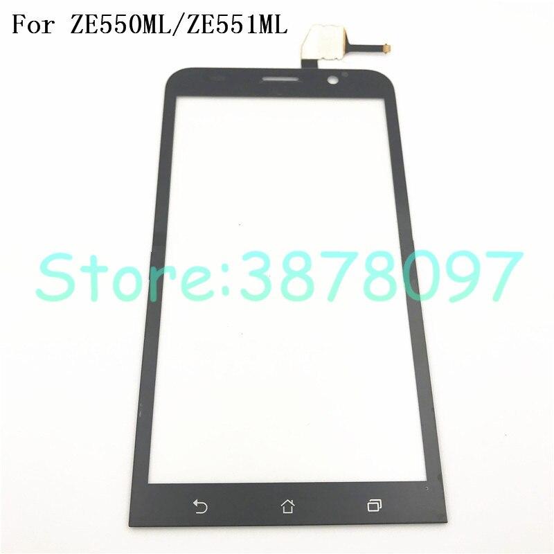 "5,5 ""para Asus Zenfone 2 ZE550ML/ZE551ML Z00AD digitalizador pantalla táctil Sensor lente cristal reemplazo"