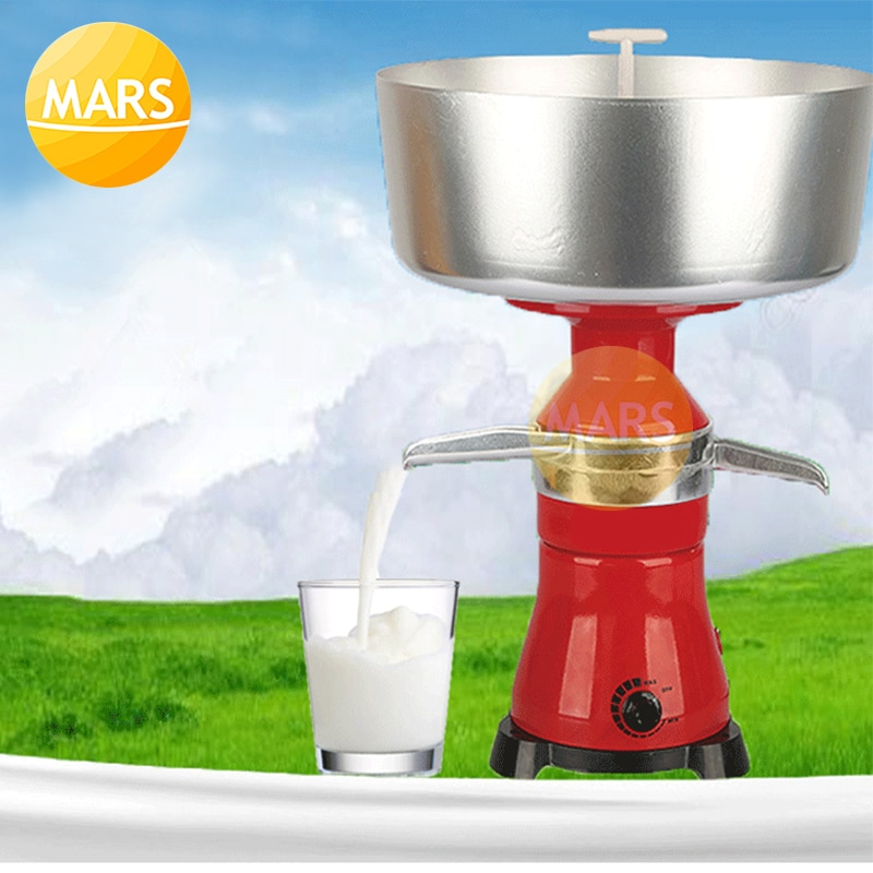 فاصل كهربائي للحليب والقشدة ، آلة تقشير الحليب والقشدة 80L/h ، جهاز طرد مركزي كهربائي ، منقي الكريمة ، 220 فولت