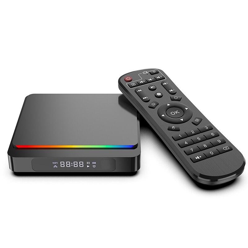 SZBOX جديد X4 برو صندوق التلفزيون Amlogic S905X4 أندرويد 10.0 مربع التلفزيون الذكية 4GB RAM 32GB ROM 2.4G 5.8G واي فاي BT4.2 4K HD مجموعة صندوق علوي PK A95X