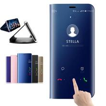 Smart miroir vue étui à rabat pour Huawei Honor 10 20 Lite Pro 8X 8A 8C 8S Play View 9 Y5 Y6 Y7 Y9 Prime P Smart 2019 Z couverture de téléphone