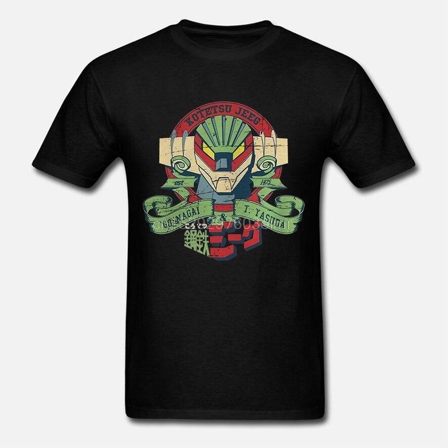 Funny Men t shirt Women novelty tshirt Super Robot Jeeg 1975 cool T-Shirt