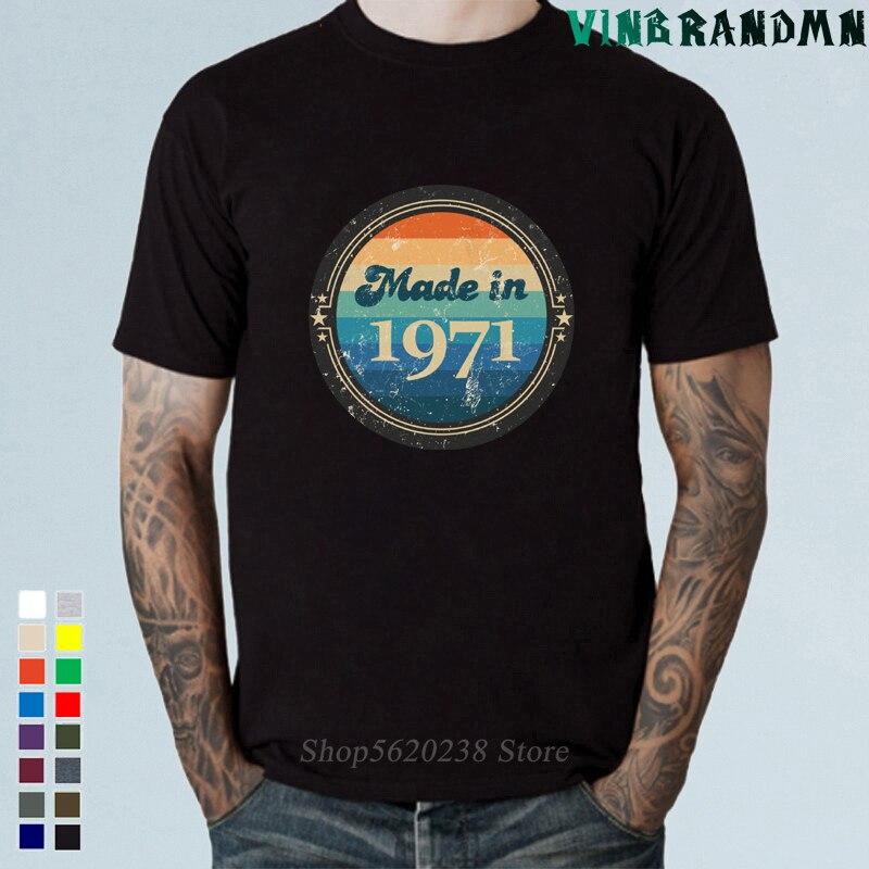 Camisetas Personalizadas Vintage para hombres, camiseta de parte Original, clásica, 49th, cumpleaños,...