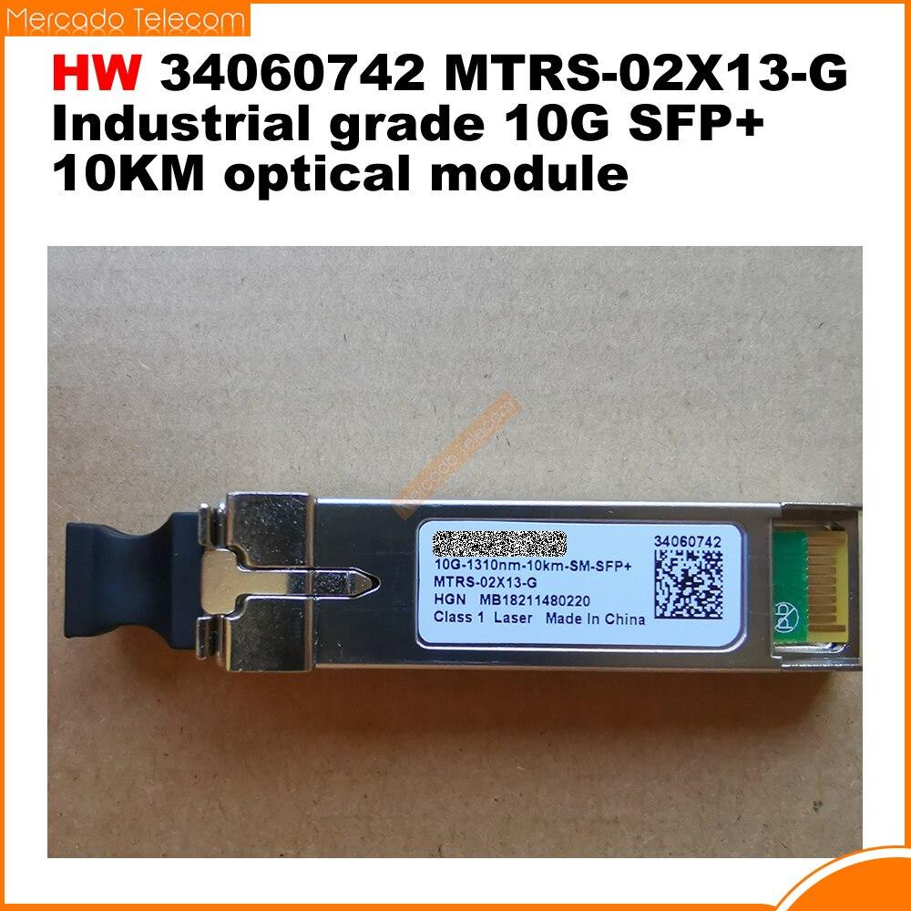 هواوي الأصلي أصيلة 34060742 MTRS-02X13-G الصناعية الصف 10G SFP + 10 كجم وحدة بصرية