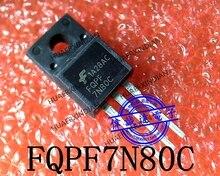 1 pièce, nouveau, Original, 7N80C 7N80 TO-220, image réelle, en stock