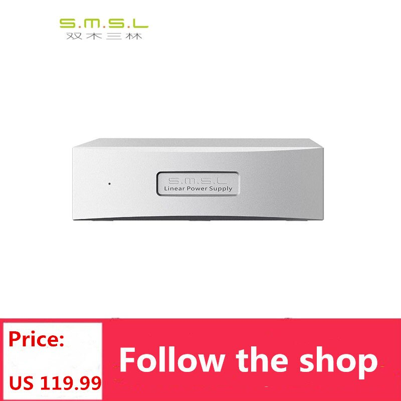 مزود طاقة الصوت الخطي S.M.S.L SMSL P2 ، يمكن أن يستخدم الإخراج المزدوج 5V كمصدر طاقة مصنوع لـ M8A و SAP-12