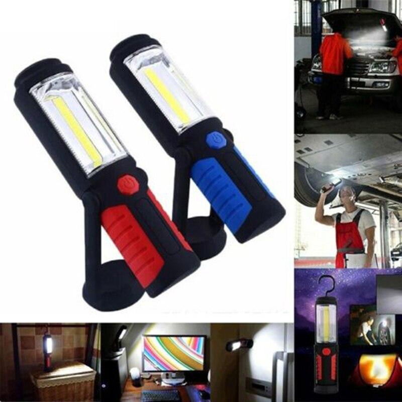 Luz LED COB de 2 vías, linterna led con carga usb, linterna led, linterna manual con imán, lámpara de camping, lámpara de inspección, luz de trabajo