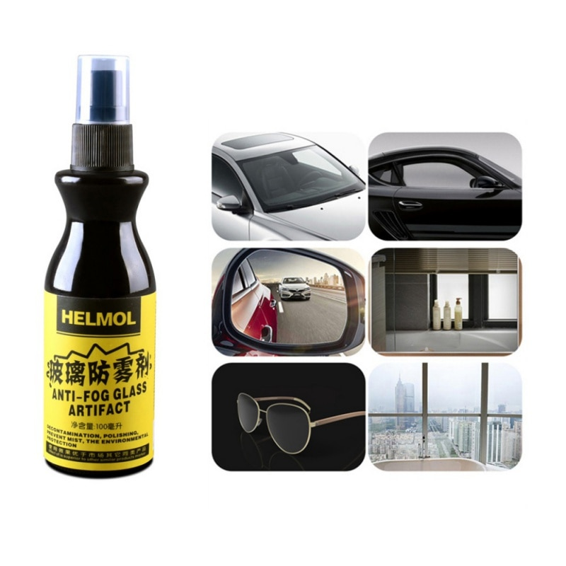 1PC 100ml Anti-niebla agente impermeable a prueba de lluvia Anti-niebla aerosol coche ventana vidrio baño limpiador Coche limpieza accesorios de coche