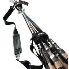 الصيد رود الناقل حزام حبال الفرقة قابل للتعديل حزام الكتف حامل أدوات السفر SEC88
