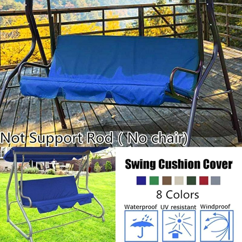 Spot Swing Seat Cover Chair Waterproof Cushion Patio Garden Yard Outdoor Seat Replacement QP2