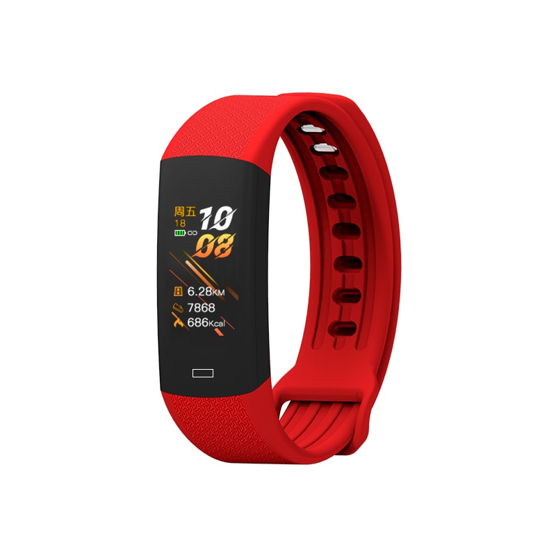 Toleda B6W BT Smart band temperature wrist watch blood pressure monitor heart rate temperature oxygen gadgets 2020 technologies