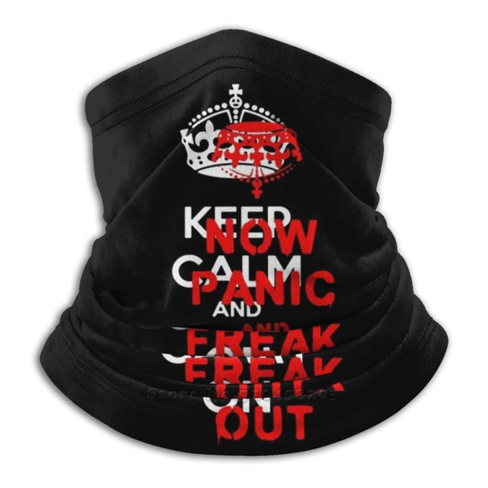 Brexit ''keep Calm And Carry On'' Now Panic And Freak Out! 3d Bandana Face Neck Warmer Soft Fleece Mask Sport Scarf Brexit Keep