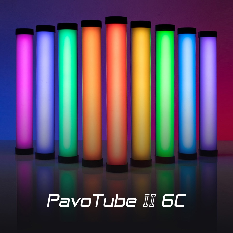 Nanlite-Nanguang p050tube II 6C LED RGB ، أنبوب ضوء ناعم ، محمول ، إضاءة الصور ، وضع CCT ، الصور والفيديو
