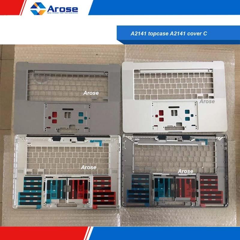A2141 topcase A2141 funda C A2141 teclado A2141 touchpad A2141 trackpad gris plateado A2141 funda superior