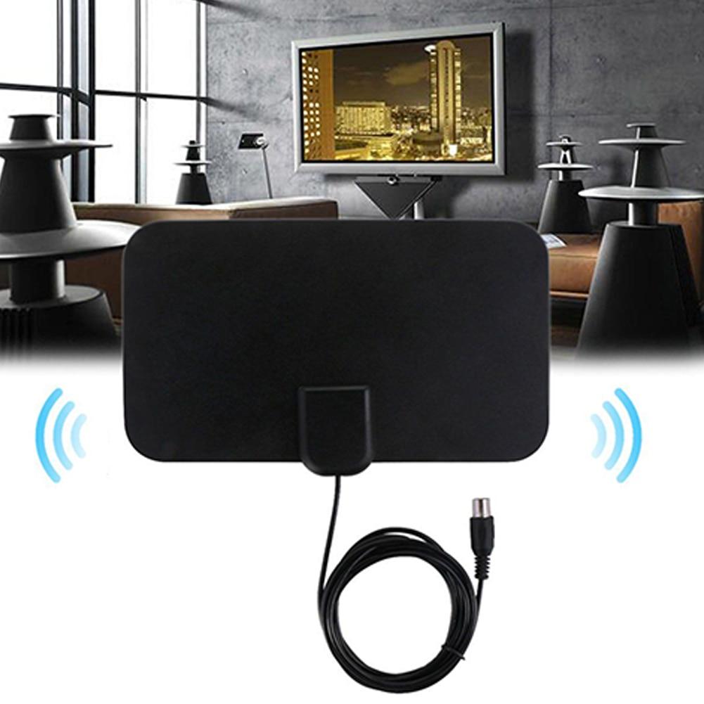 20db alta ganho hd antena casa interior fácil instalar design plano tv digital mini acessórios hdtv antena