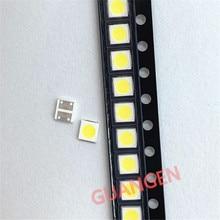 100 stücke Original FÜR CREE LED 3030 6V 2W 2-CHIP Lampe perlen 150-187LM LCD TV Hintergrundbeleuchtung high Power LED 6V kühles weiß PT30Z92 V0