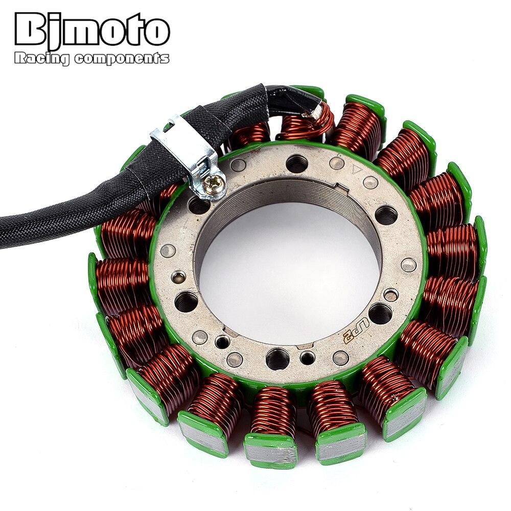 Bjmoto bobina de estator para motocicleta para Honda SLR650 1997-1998 FX650 Vigor 1999-2000 31120-MFC-621 FMX650 2005-2006