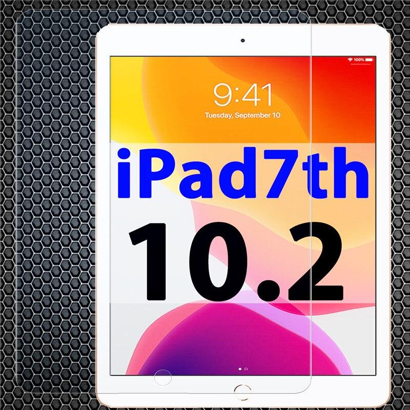 Apple ipad 7. Szkło do Apple ipad 10.2 cala ochraniacz ekranu ipad 7 glas i pad 7 generacji ipad 7gen full cover HD