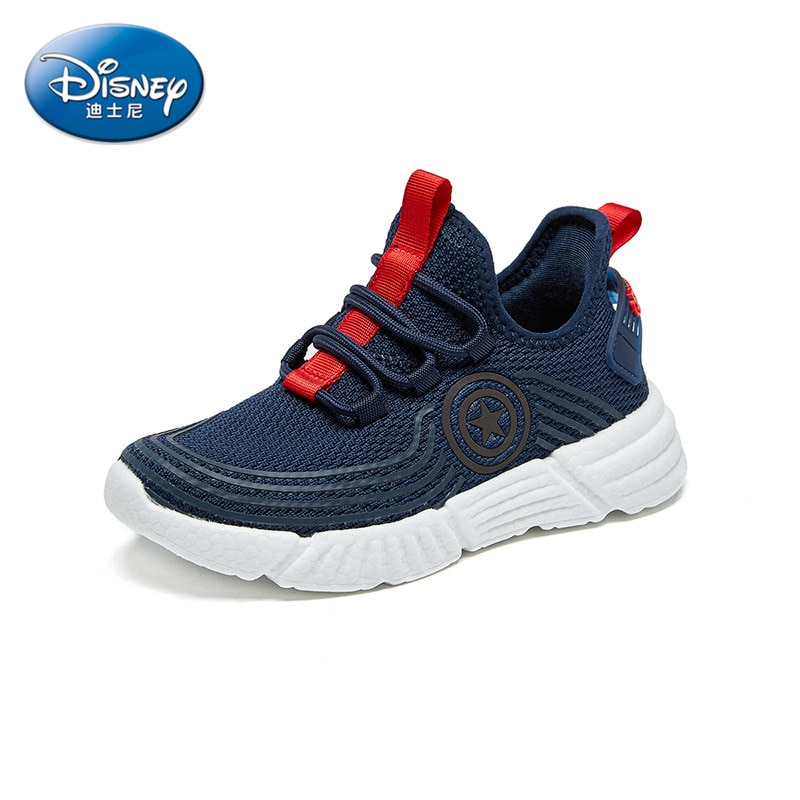 Limited Edition Marvel Heroes Avengers Captain America Children's Sneakers Lightweight Boys and Girls Running Shoes enlarge