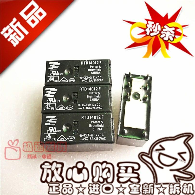 Frete grátis rtd14012f 12vdc16a/250vac rtd14012f12v 10 peças por favor note claramente o modelo