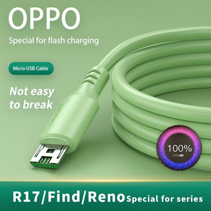 Cable de datos de carga para teléfono inteligente Oppo 4A Fash, Cable...