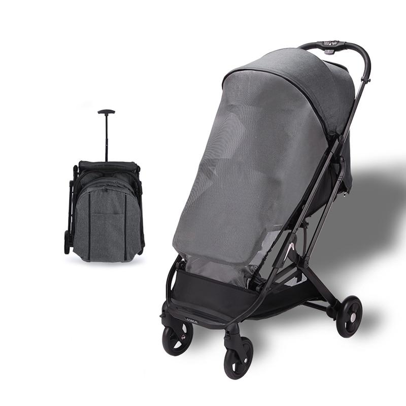 Dearest 2020 Folding Stroller One-click Folding Lightweight Travel Free Shipping in Russia enlarge