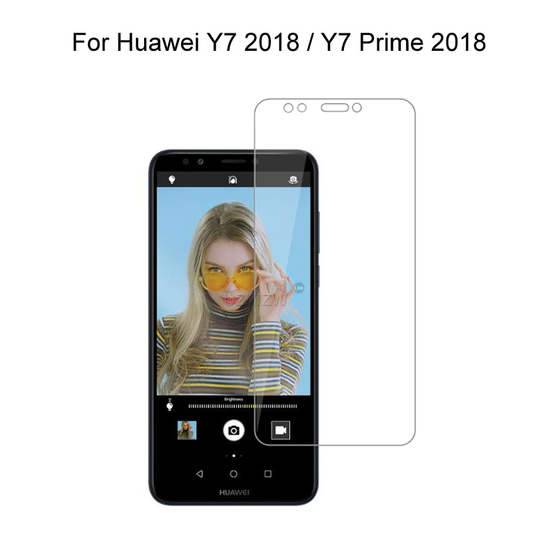 Tempered Glass For Huawei Y7 2018 Y7 Prime 2018 5.99 inch Tempered Glass Screen Protector For Huawei Y7 2018 Glass