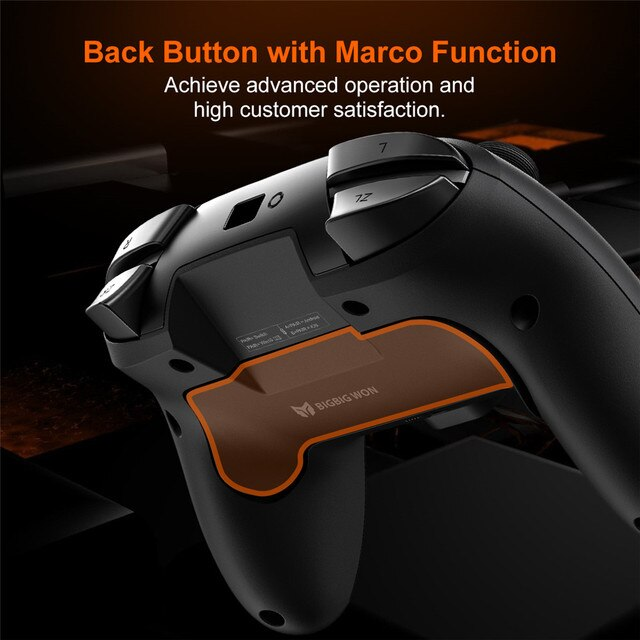 BIGBIG WON Elitist S Wireless Gamepad Controller Joystick for Nintendo Switch PC Android Game Console with 6-Axis Gyro Handle 8