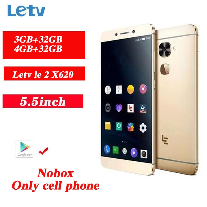 Letv LeEco Le 2 X620 4G LTE Smartphoe 3GB+32GB 1920*1080 16.0MP Fingerprint Mobile Phones PK X620 4GB+32GB