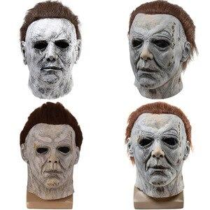 Movie 1978 Halloween Michael Myers Latex Masks The Babysitter Murders Cosplay Joker Murderer Terror Masks MichaelMyers Slayer