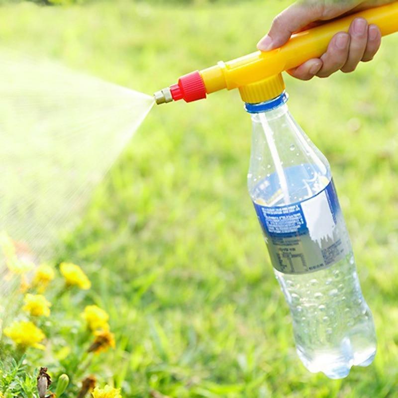 PULVERIZADOR multifunción para botellas, rociadores simples para riego de jardín, boquilla ajustable, varios artículos de jardín