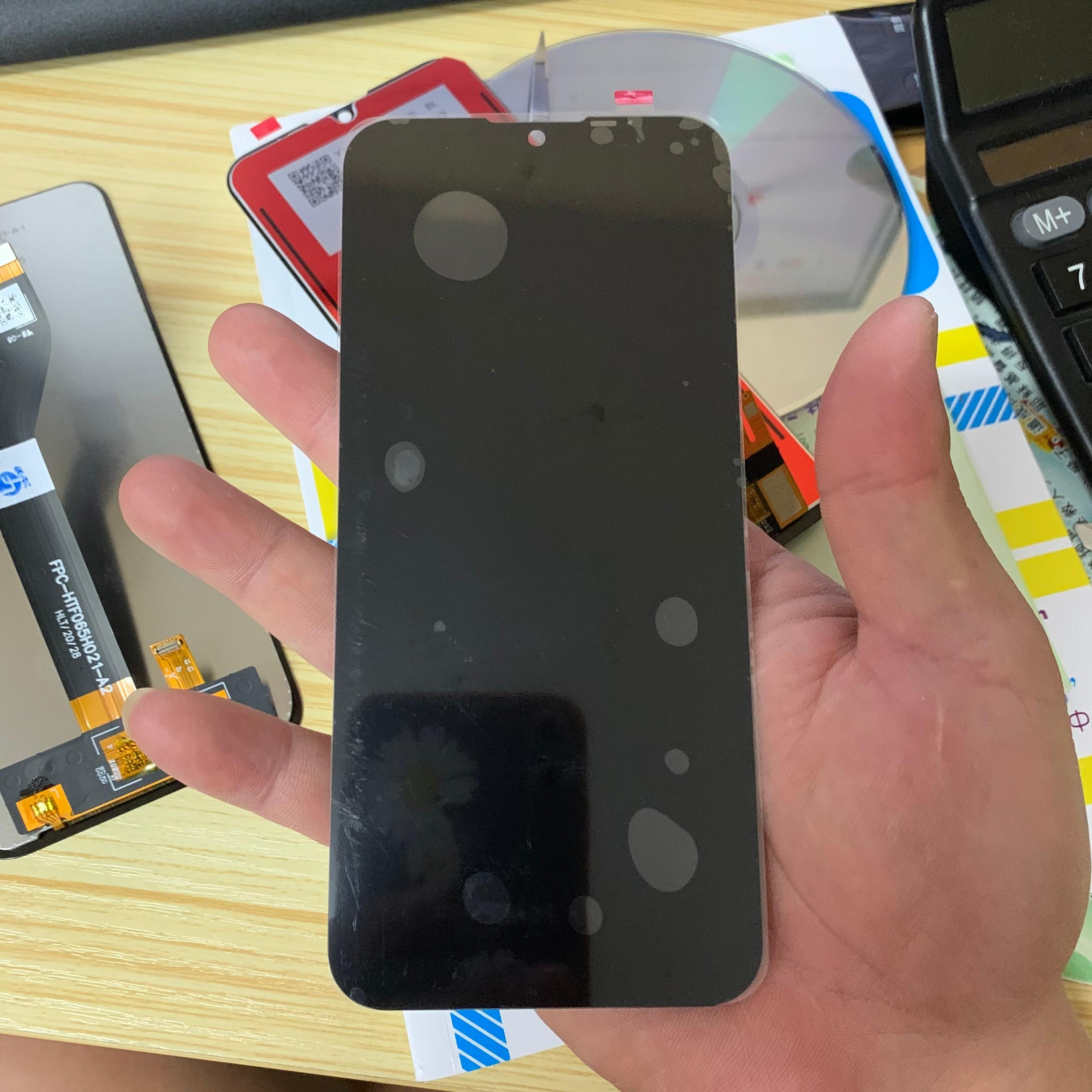 ل موتورولا موتو E6s 2020 XT2053-1 XT2053-2 XT2053-3 LCD عرض تعمل باللمس محول الأرقام الجمعية ل موتو E6s lcd استبدال