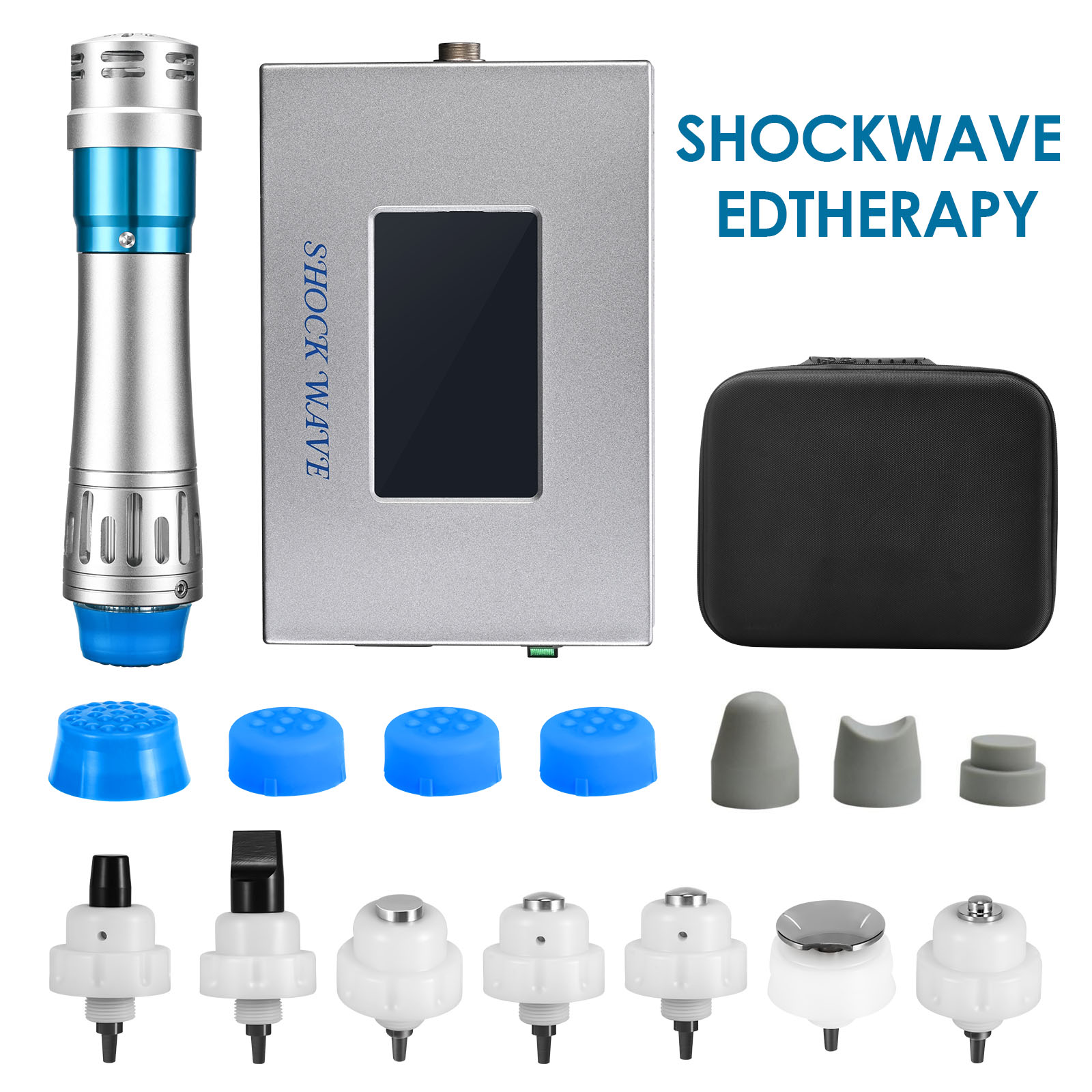 Updated ShockWave Therapy Machine Professional Muscle Pain Relief Massager For Therapy Relief Massage Body-Shaping ED Treatment enlarge