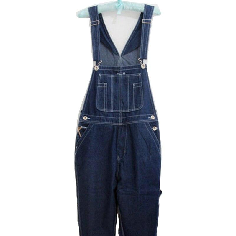 Мужской джинсовый комбинезон, джинсовый комбинезон с карманами, размер 26-40, 42, 44, 46, верхний размер 2020