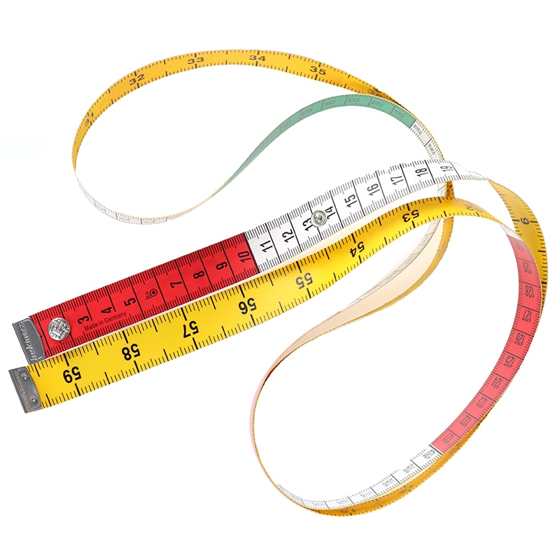1PC Body Measuring Ruler Sewing Tailor Tape  Mini Soft Flat Ruler Centimeter Meter Sewing Measuring Tap Measuree 60in 1.5m