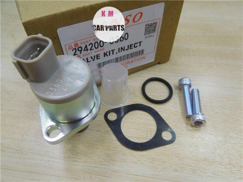 100% new   1460A037 294009-0260 294009-0360 Diesel Fuel Pump Pressure Suction Control SCV Valve For MITSUBISHI FORD MAZDA 3 5 6