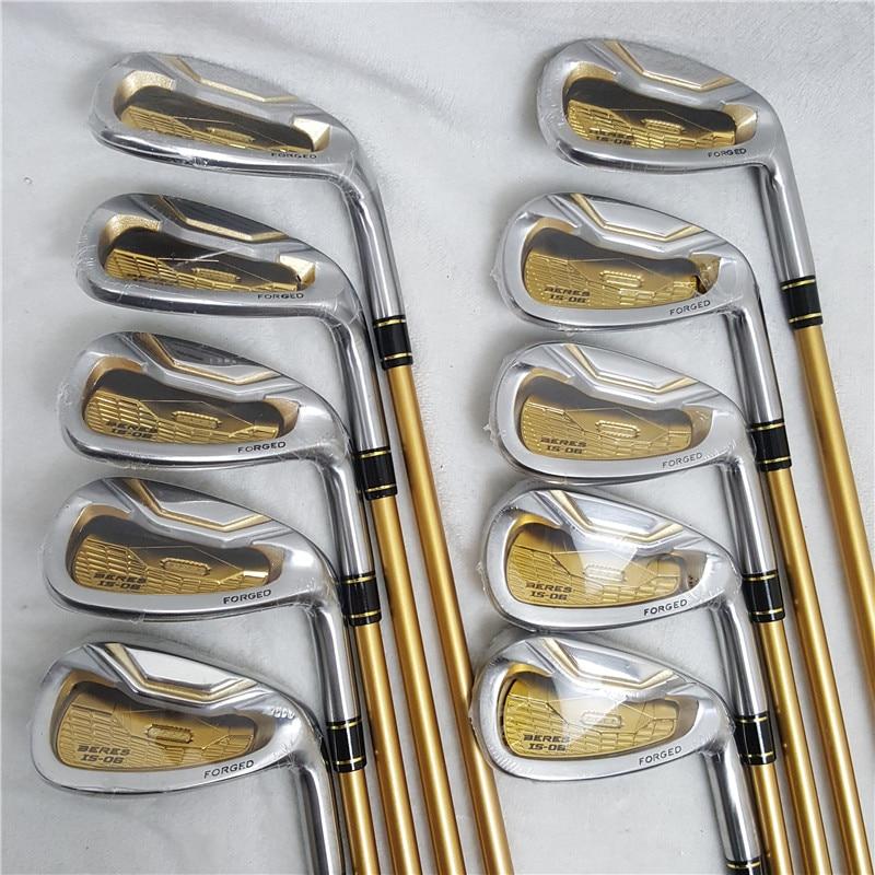 Los clubes de Golf honma s-06 4 estrellas GOLF hierros clubes de 4-11Sw.Aw Golf hierro club grafito mango de Golf R o S flex