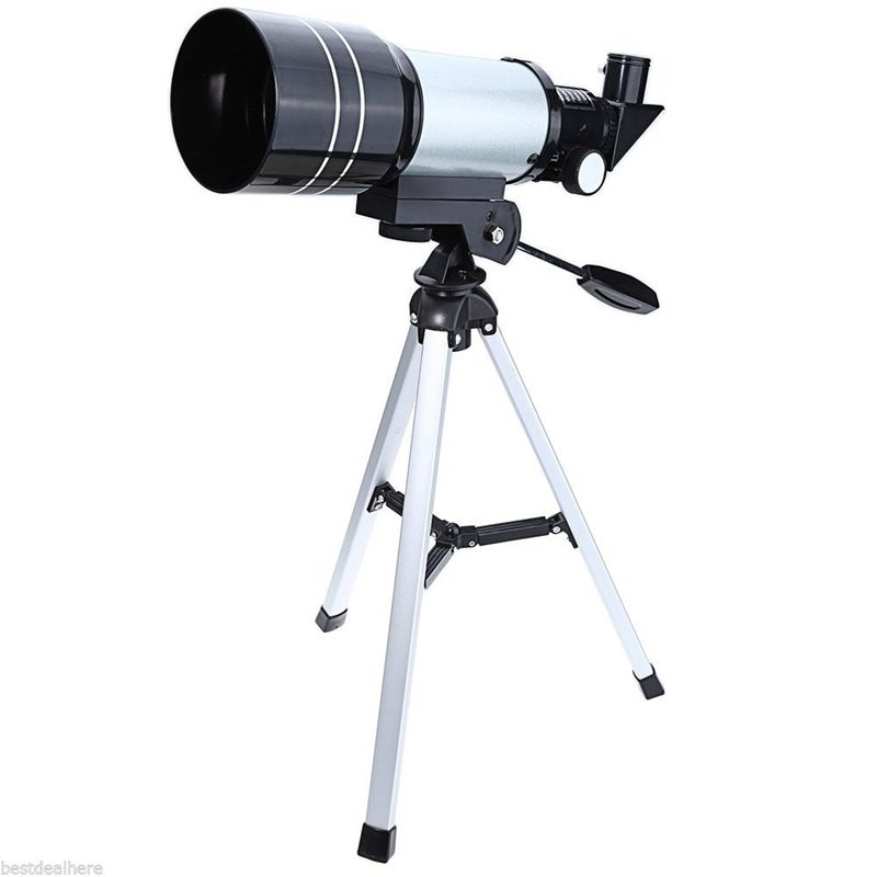 90 grados F30070M Monocular profesional espacio astronómico telescopio con trípode