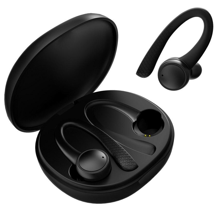 Фото - Bluetooth Headset Wireless Sports Headphones Bluetooth 5.0 Earphones Ear Hook Running Stereo Earbuds With Waterproof bluetooth headset wireless sports headphones tws bluetooth 5 0 earphones ear hook running stereo earbuds with mic waterproof