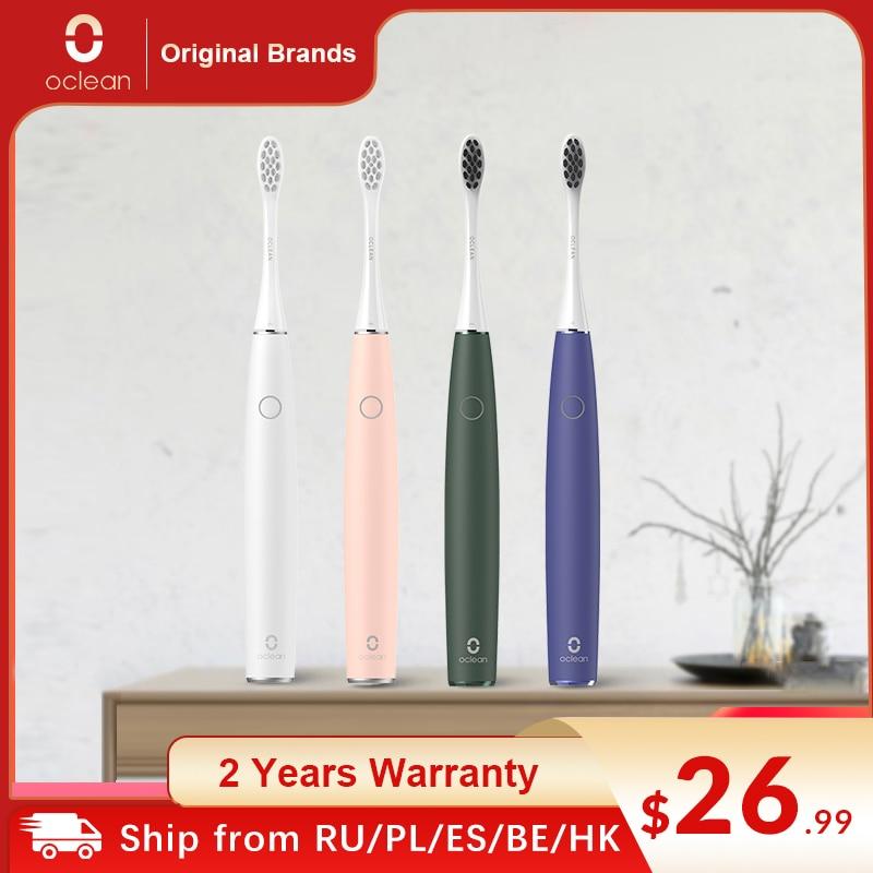Oclean Air 2-cepillo de dientes eléctrico, Sónico, resistente al agua IPX7, pantalla...