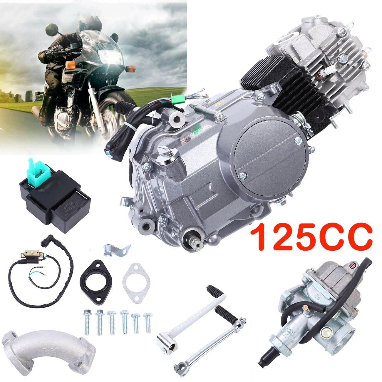 Samger – Kit de moteur à essence 4 temps 125cc, pour Honda CRF70 XR70 Z50, Scooter, ATV, Go Kart, pièces de moto