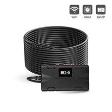 Endoscope USB Wifi tuyau Endoscope de voiture Mini inspecter la lentille Flexible de lappareil-photo IP67 de fil pour le téléphone portable dandroid PC portable Macbook